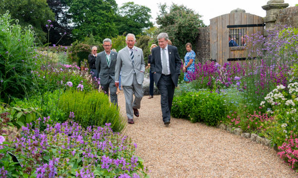 GBR: The Prince Of Wales Visits The Millenium Seed Bank
