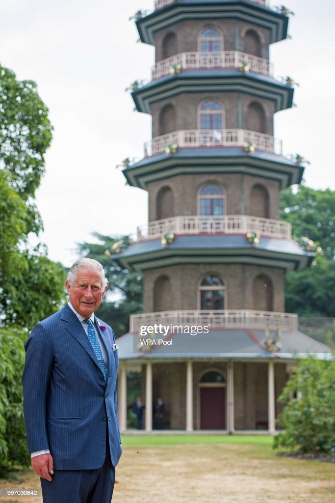 The Prince Of Wales Visits Kew Gardens