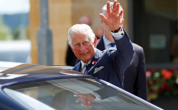 GBR: The Prince Of Wales Visits The Headquarters of GCHQ
