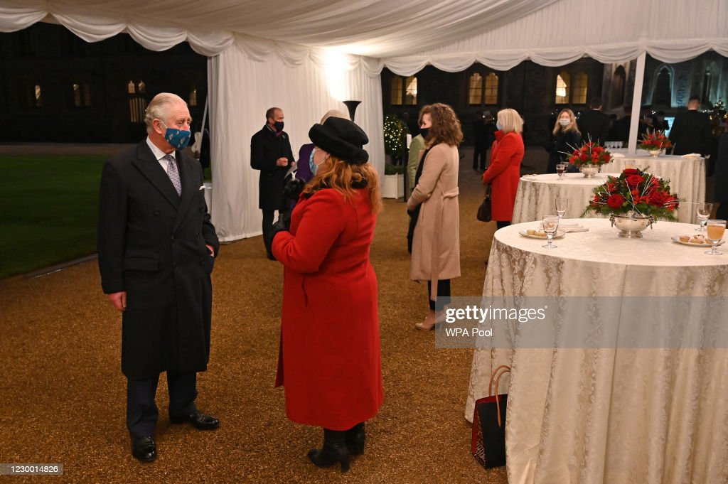 The Duke And Duchess Of Cambridge Visit Communities Across The UK : ニュース写真