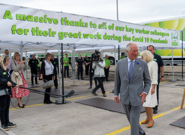 GBR: The Prince Of Wales And The Duchess Of Cornwall Undertake Engagements In Bristol And Gloucester