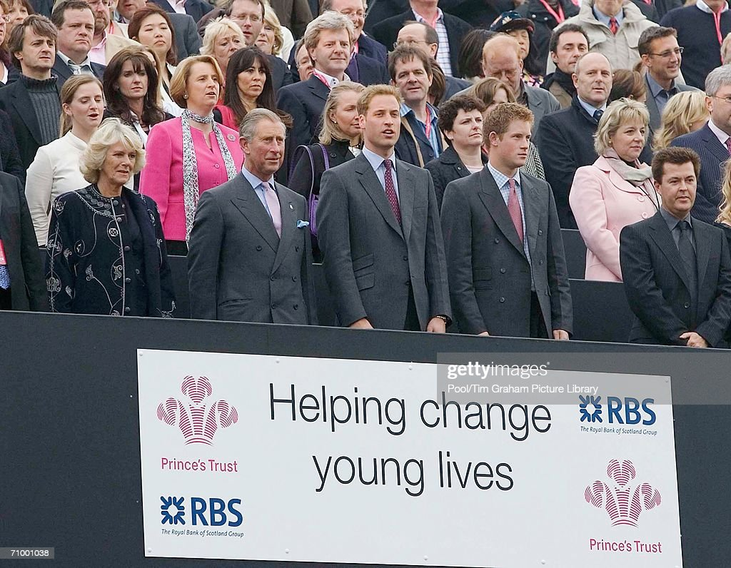 Prince William at Prince's Trust Concert : News Photo