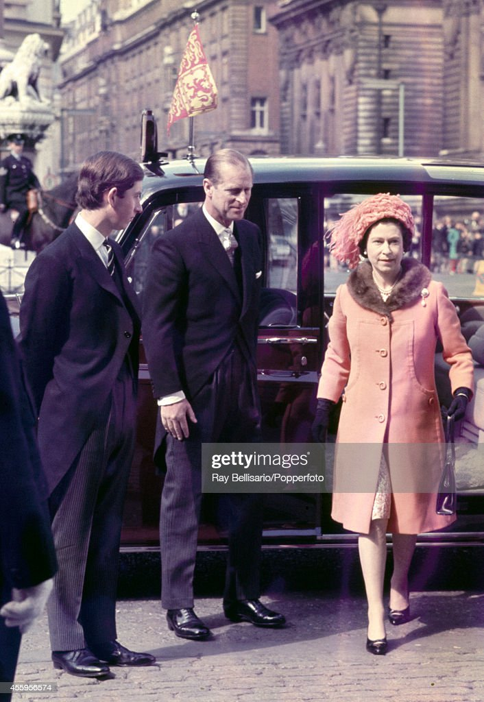 The Royal Famiy At Westminster Abbey : News Photo