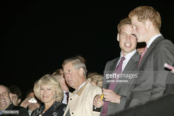 Prince Charles, Prince William and Prince Harry during Prince's Trust 30th Live - Show at Tower of London in London, Great Britain.