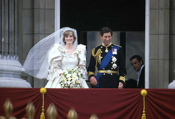 Prince Charles & Lady Diana On Wedding Day