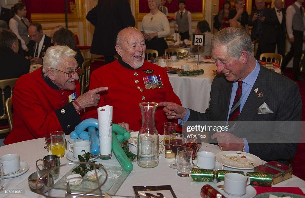 Prince Charles Attends Not Forgotten Association Reception