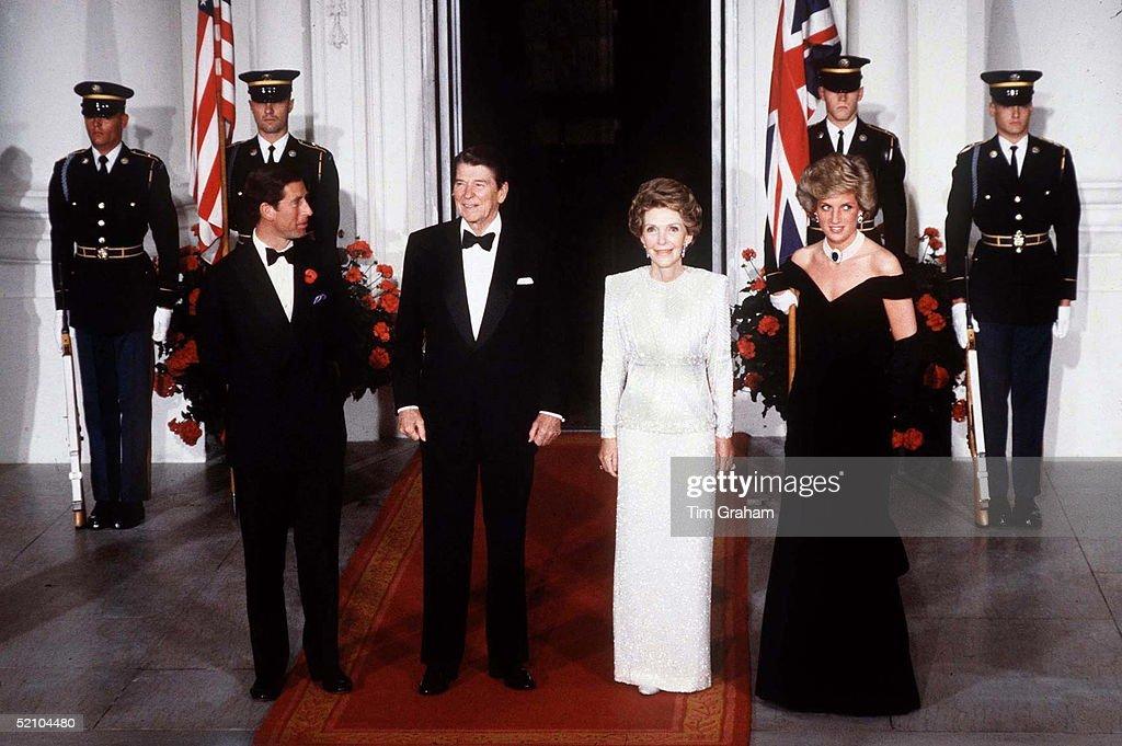Diana Charles Reagan Nancy : Nachrichtenfoto