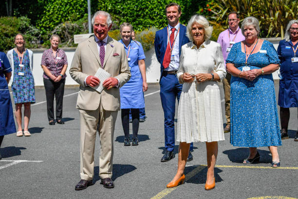 GBR: The Duke And The Duchess Of Cornwall Undertake Engagements In Devon And Cornwall - Day Two
