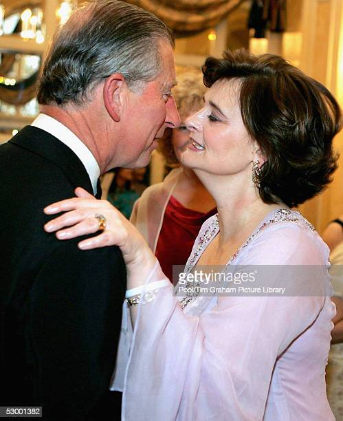 Prince Charles, The Prince of Wales and Cherie Blair attend the Asian Women of Achievement Awards at the London Hilton, Park Lane on May 26, 2005 in...