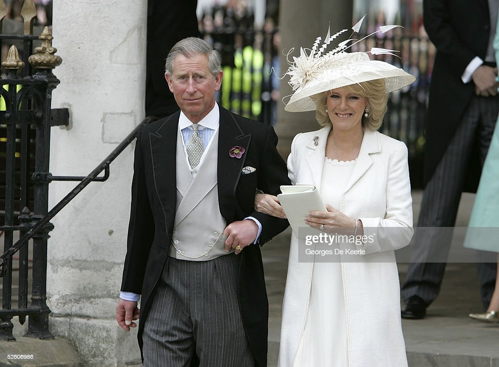 HRH Prince Charles & Mrs Camilla Parker Bowles Marry At Guildhall Civil Cer : News Photo