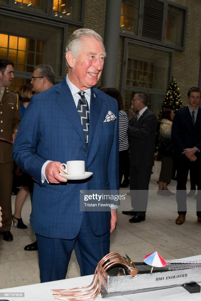 Prince Charles, The Prince of Wales attends the MOD Apprenticeship Awards held at The Ministry Of Defence on December 7, 2017 in London, England. The annual event celebrates the achievements of Defence Engineering apprentices which is run by the MOD's Department for Equipment and Support (DE&S).This year His Royal Highness presented the inaugural Prince of Wales's Award for Services to Defence Engineering.