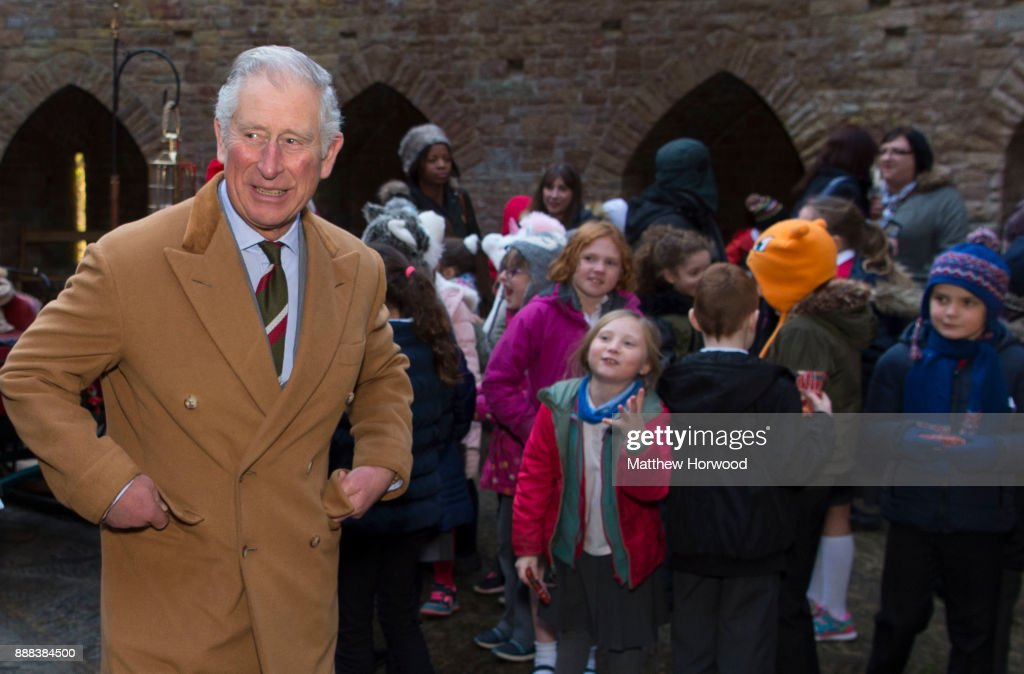 Prince Charles, The Prince of Wales in Wales : News Photo
