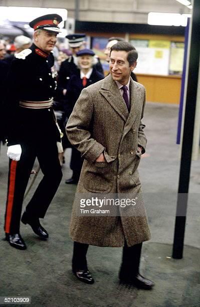 Prince Charles Visiting Carlisle.