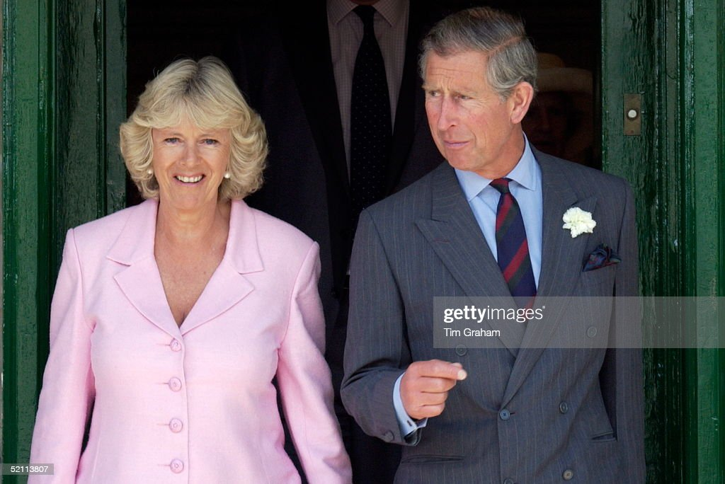Prince Charles Visiting Marlborough To Celebrate The 800th Anniversary Of The Town Meets Up With Camilla Parker-bowles In Her Role As Fundraiser And Trustee Of The Wiltshire Bobby Van Trust Providing Home Security Help For Older And Disadvantaged People.