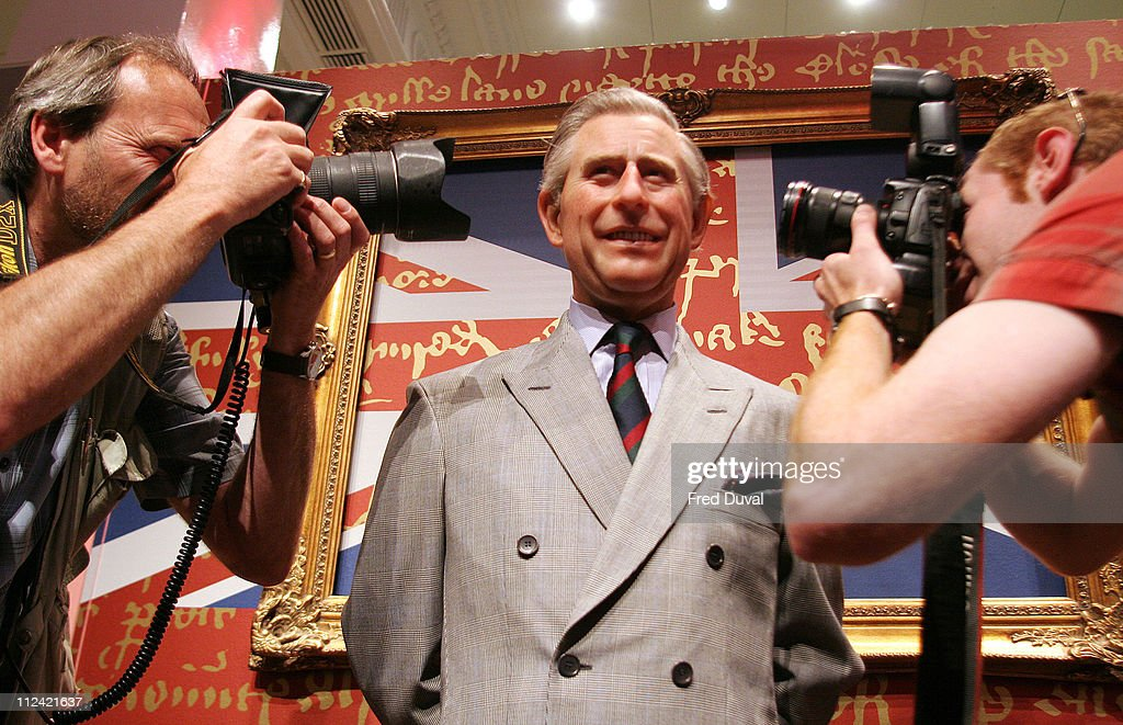Madame Tussauds Launches First Eco-Friendly Wax Figure - HRH Prince Charles - May 23, 2006 : News Photo