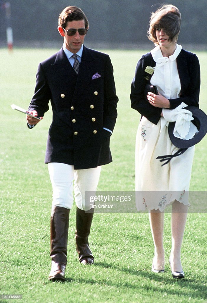 Charles And Friend At Polo : News Photo