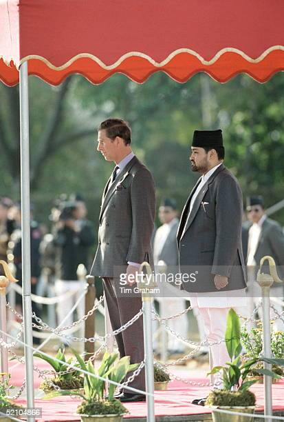 Prince Charles With Crown Prince Dipendra Of Nepal