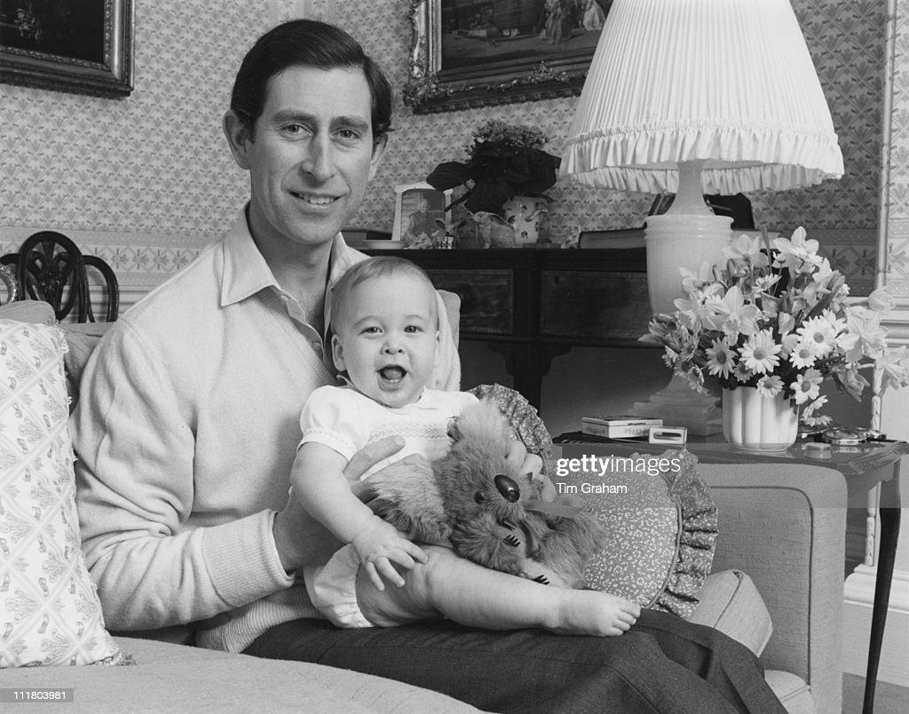 Baby Prince William : News Photo