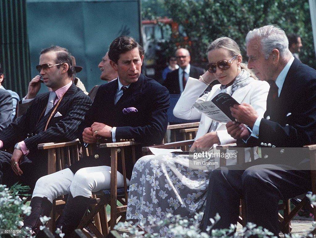 Mountbatten, Charles And Princess Michael : News Photo