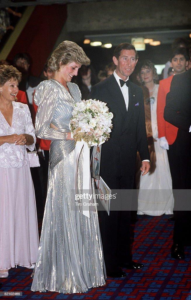 Diana And Charles Australia : ニュース写真