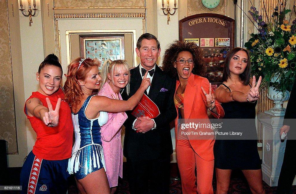 Spice Girls Tease Charles : News Photo