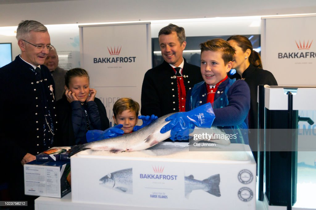 Danish Royal Family Visit The Faroe Islands In The North Atlantic : News Photo
