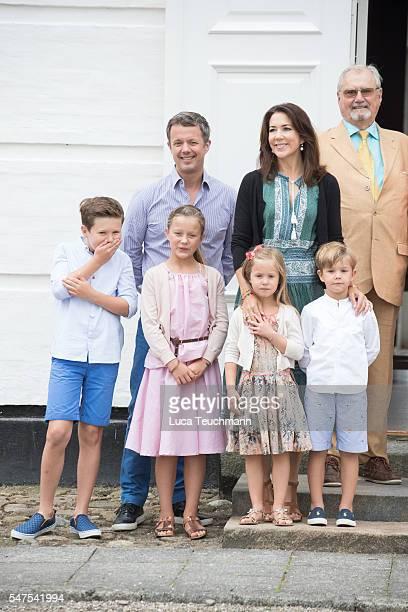 Prince Christian of Denmark Crown Prince Frederik of Denmark Princess Isabella of Denmark Princess Josephine of Denmark Crown Princess Mary of...