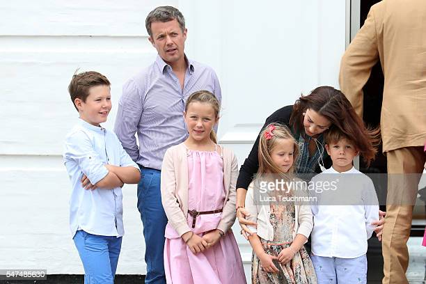 Prince Christian of Denmark Prince Henrik of Denmark Princess Isabella of Denmark Princess Josephine of Denmark Crown Princess Mary of Denmark and...