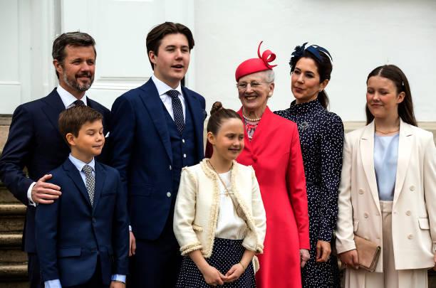 DNK: Prince Christian Of Denmark Confirmation