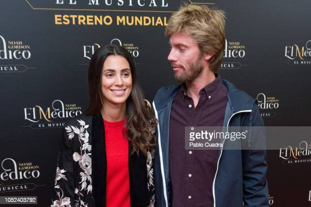 Prince Christian of Hannover and wife Alessandra de Osma attend 'El Medico' musical premiere at the Nuevo Apolo Teather on October 17 2018 in Madrid...