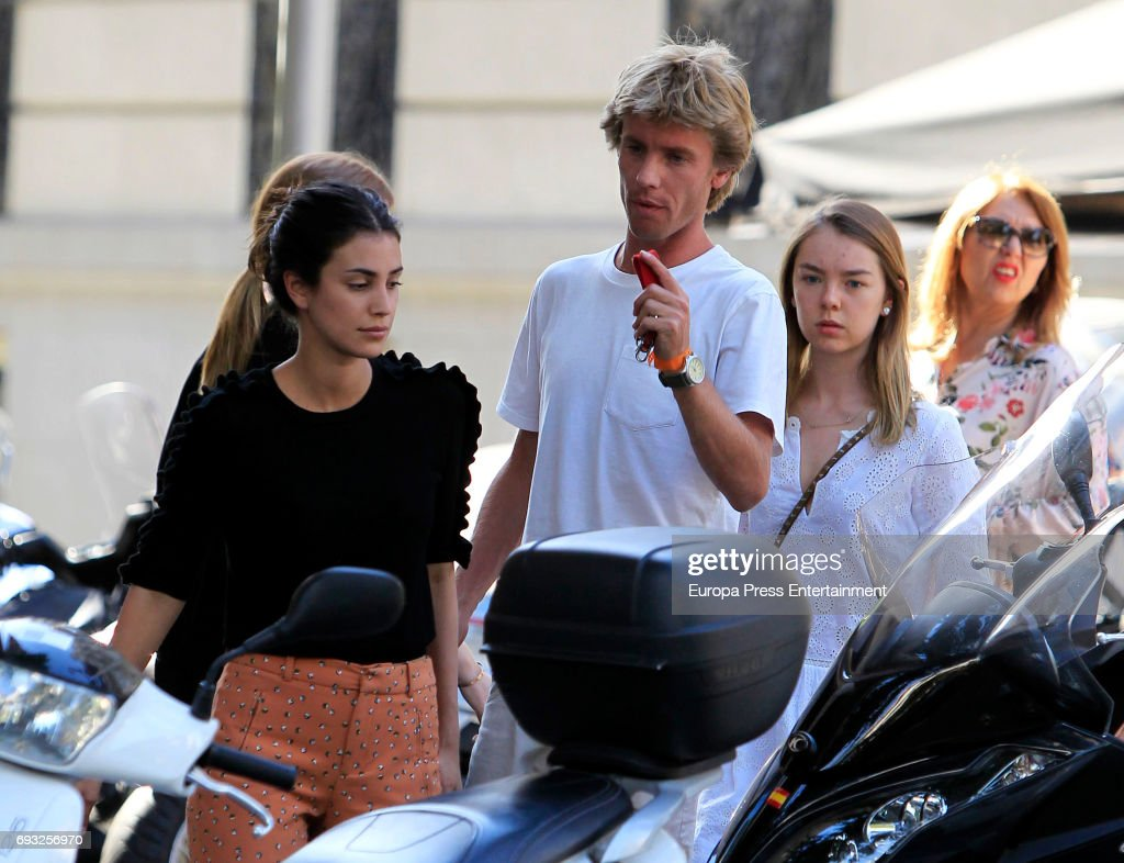Celebrities Sighting In Madrid - May 25, 2017