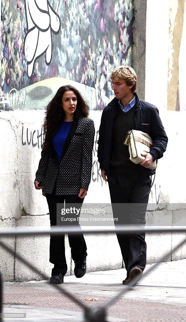 Celebrities Sighting In Madrid - November 04, 2015