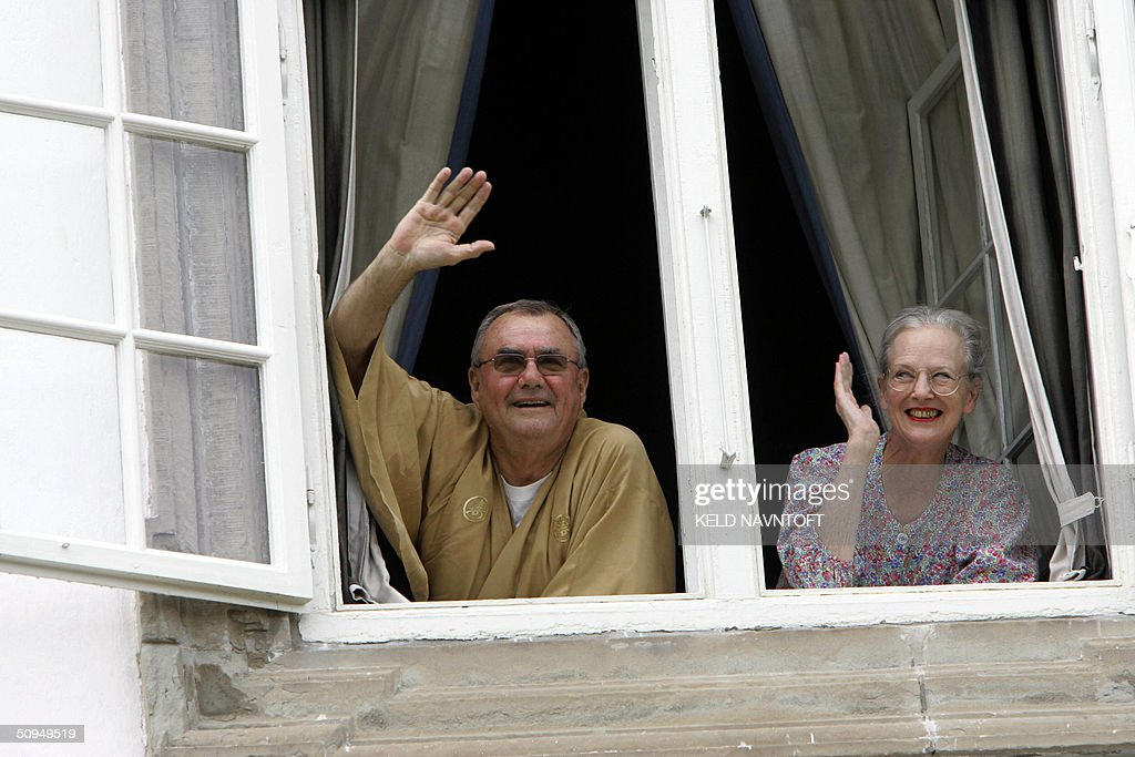 Prince Consort Henrik and Queen Margreth : News Photo