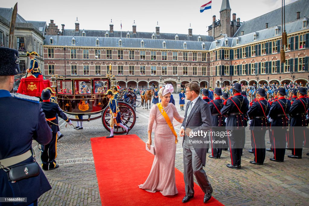 Dutch Royal Family Attends Prinsjesdag 2019 In The Hague : Nieuwsfoto's