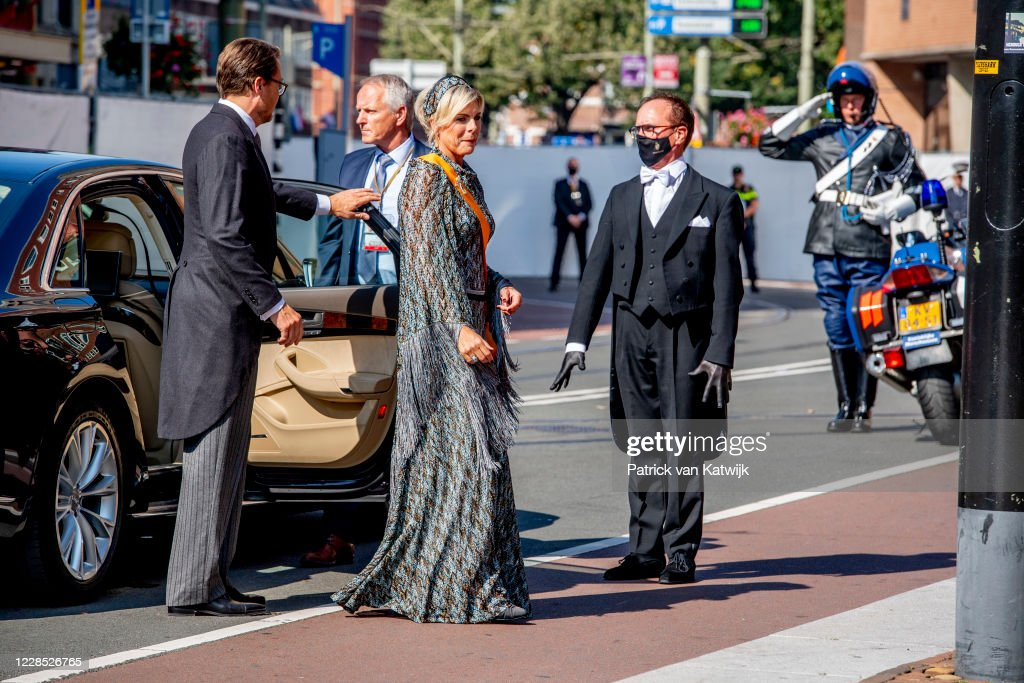 Dutch Royal Family Attends Prinsjesdag 2020 in The Hague : News Photo