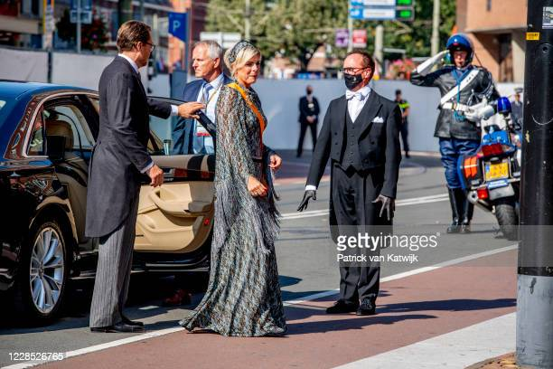 Prince Constantijn of The Netherlands and Princess Laurentien of The Netherlands attend the opening of the parliamentary year Prinsjesdag in the...