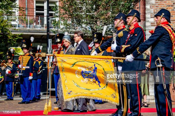 Prince Constantijn of The Netherlands and Princess Laurentien of The Netherlands attends Prinsjesdag, the annual opening of the parliamentary year,...