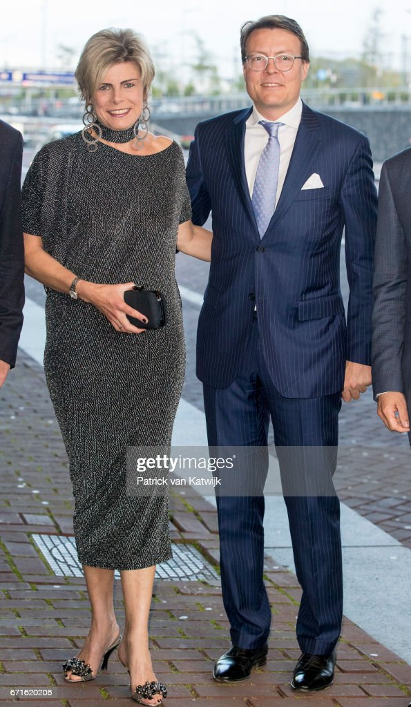 Prince Constantijn Of The Netherlands and Princess Laurentien Netherlands Attend The World Press Photo Award Ceremony : News Photo
