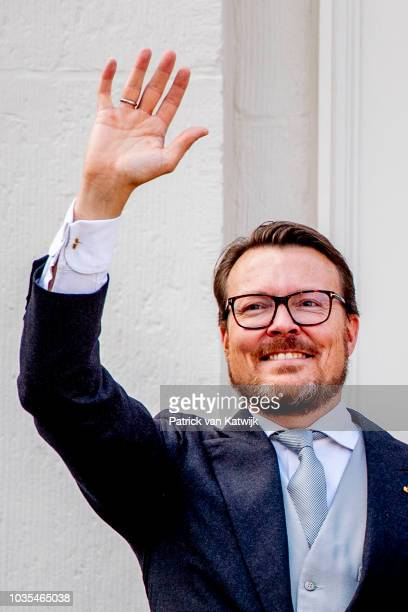 Prince Constantijn of The Netherlands at Palace Noordeine for the annual opening of the Parliamental year Prinsjesdag on September 18 2018 in The...