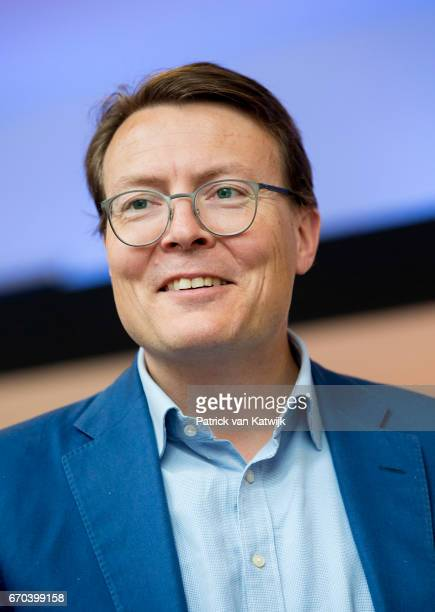 Prince Constantijn of The Netherlands opens the RoboBusinessEurope fair on April 19 2017 in The Hague Netherlands RoboBusiness Europe is all about...
