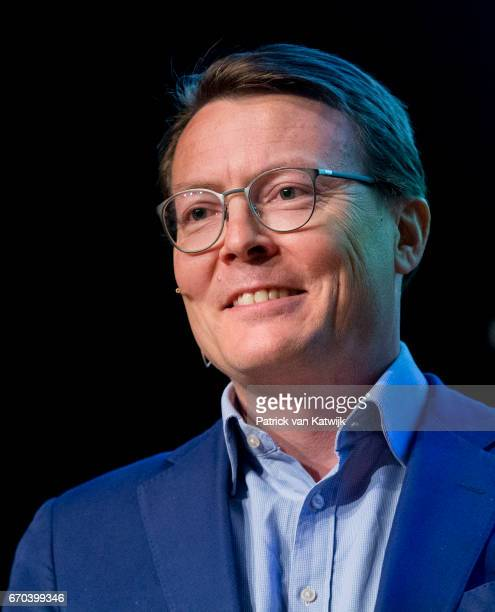 Prince Constantijn of The Netherlands opens the RoboBusinessEurope fair on April 19, 2017 in The Hague, Netherlands. RoboBusiness Europe is all about...