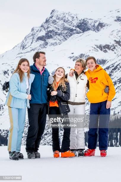 Prince Constantijn of The Netherlands Princess Laurentien of The Netherlands Countess Eloise of The Netherlands Count ClausCasimir of The Netherlands...