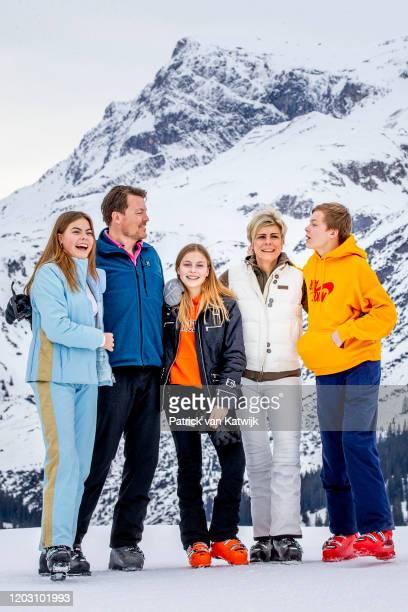 Prince Constantijn of The Netherlands, Princess Laurentien of The Netherlands, Countess Eloise of The Netherlands, Count Claus-Casimir of The...