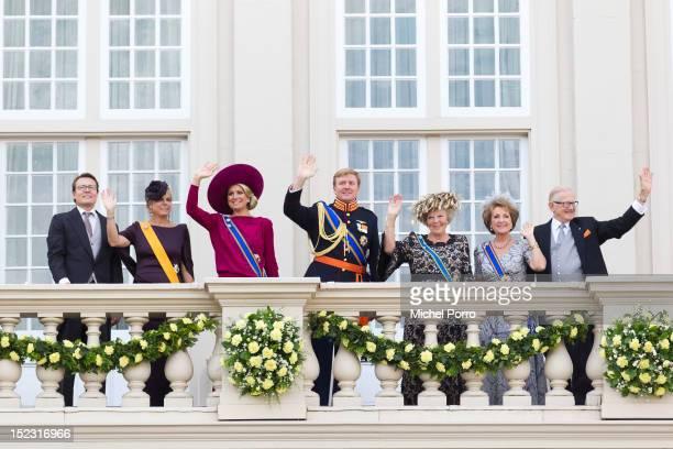Prince Constantijn of the Netherlands, Princess Laurentien of the Netherlands, Princess Maxima of the Netherlands, Crown Prince Willem-Alexander of...