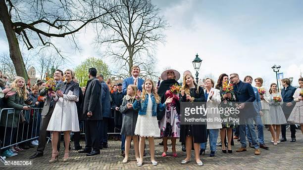 Prince Constantijn of The Netherlands, Princess Laurentien of The Netherlands, King Willem-Alexander of The Netherlands, Princess Ariane of The...