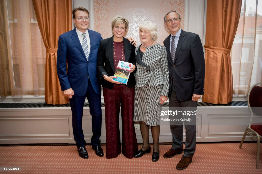 Princess Laurentien Receives Award As Most Influential Philanthropist in The Hague : Nachrichtenfoto