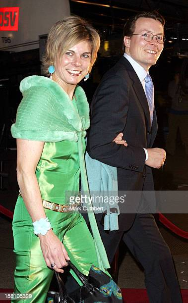 Prince Constantijn Princess Laurentien Of Holland Attend The 'Once Upon A Time' Fairytale Show At The Parken Stadium Copenhagen During The Hans...