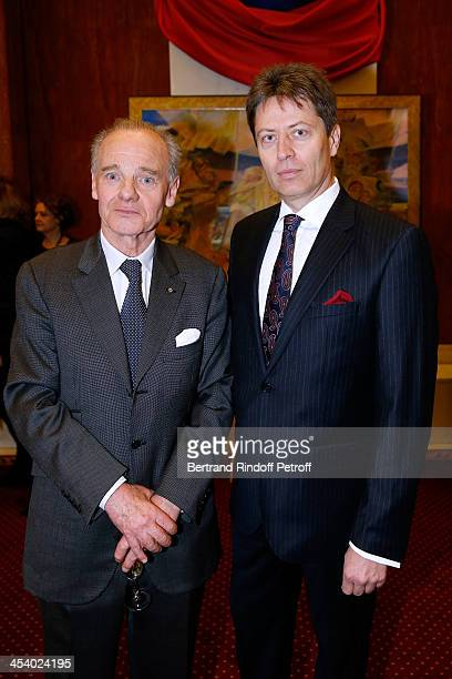 Prince Constantin Mourousy and Prince Yourrevsky attending the celebration of 26 Years of Russian French Friendship by the 'Association of the Saint...