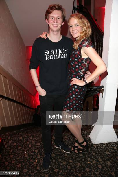 Prince Constantin SaynWittgenstein and Caroline Blomberg during the New Faces Award Style 2017 at 'The Grand' hotel on November 15 2017 in Berlin...