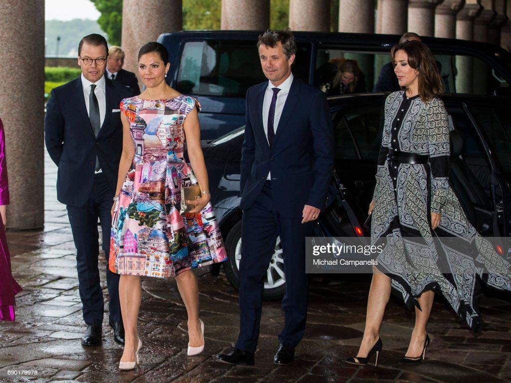 Danish Royals Visit Sweden - Day 2 : News Photo